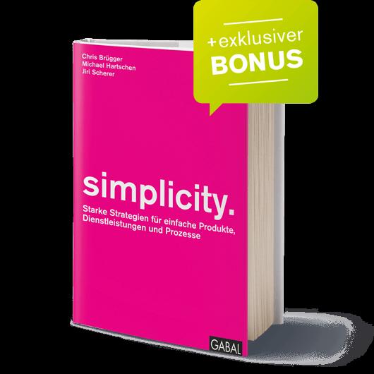 Buch Cover Simplicity Hartschen Gabal Verlag Einfachheit Brain Connection
