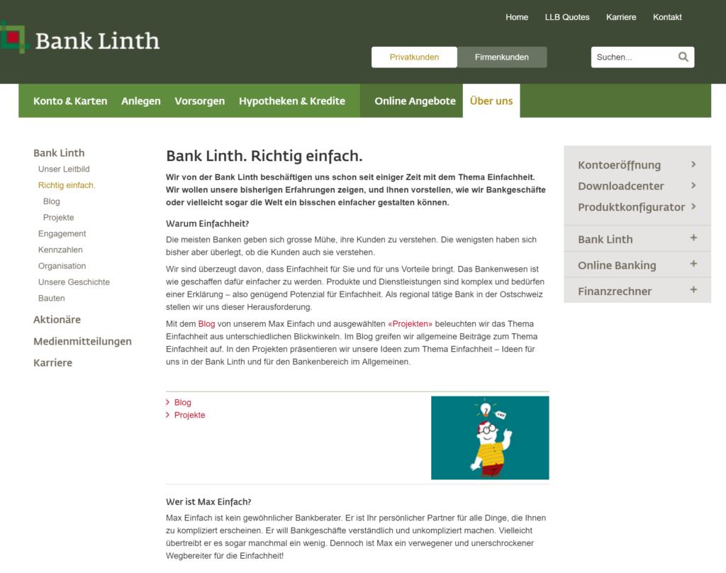 Bank LInth - richtig einfach - Simplicity Buch Hartschen