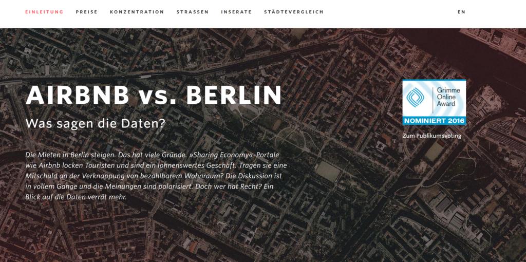 Airbnb Berlin Einfachheit Digitalisierung Simplicity