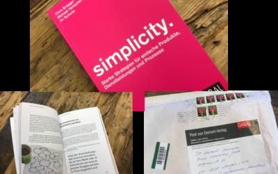 Das neue Buch Simplicity ist da