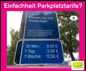 Einfachheit Parkschein Buch Hartschen Innovation Parkplatz