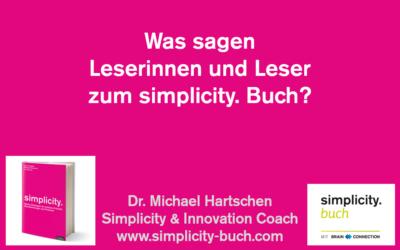Meinungen zum Simplicity-Buch