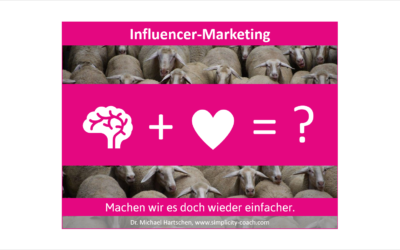 Influencer Marketing – ein einfaches Modell?